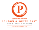 CorporateLiveWire London & South East Prestige Awards 2020/21 Winner